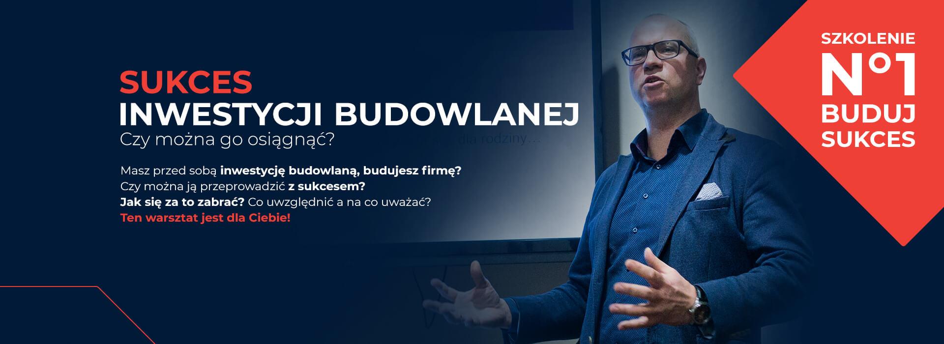 Profesjonalne szkolenie o inwestycjach budowlanych Białystok