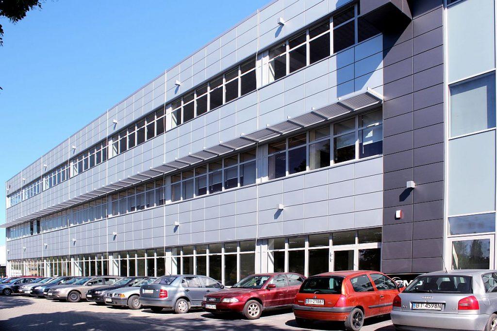 Budynek produkcyjny w inwestycji Białystok