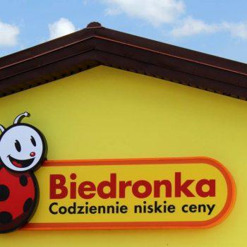 Sklep Biedronka i wspracie techniczne Białystok