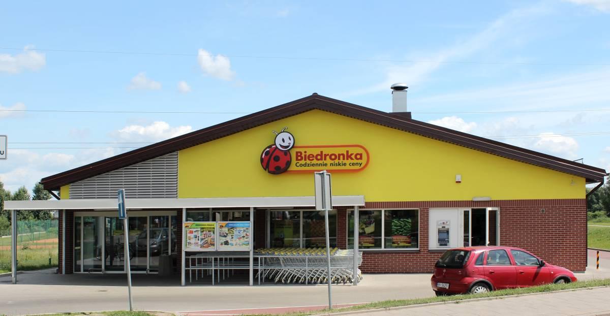 Wsparcie w inwestycji Biedronka Białystok