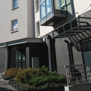 Nowy budynek zbudowany na zasadzie projektu Białystok